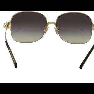 Coach Accessories - Coach Light Gold/Black Sunnies W/Light Grey Lens